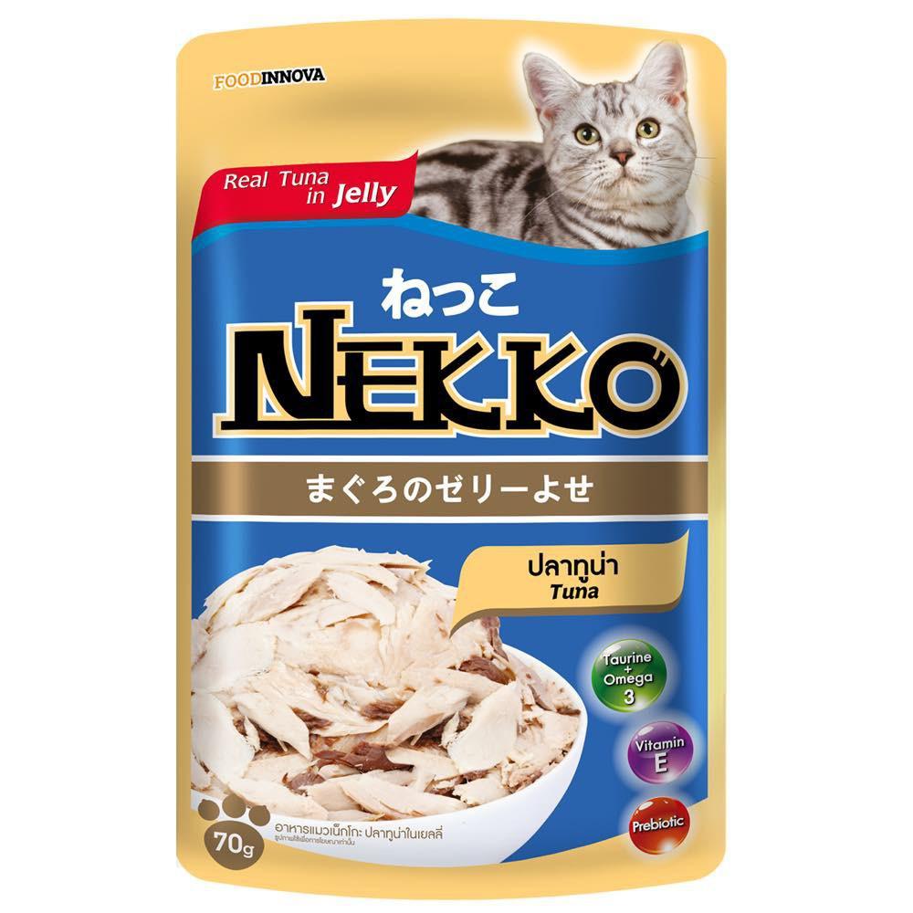 Pate Nekko cho mèo vị cá ngừ - dạng thạch ( 70g ) - 3420888 , 1029082942 , 322_1029082942 , 19000 , Pate-Nekko-cho-meo-vi-ca-ngu-dang-thach-70g--322_1029082942 , shopee.vn , Pate Nekko cho mèo vị cá ngừ - dạng thạch ( 70g )
