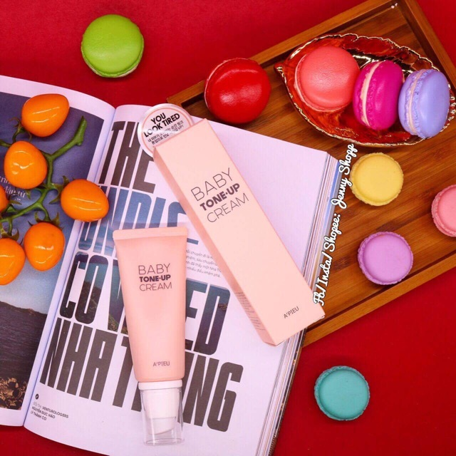 Kem dưỡng A'PIEU Baby Tone-Up Cream - 2417260 , 390806478 , 322_390806478 , 225000 , Kem-duong-APIEU-Baby-Tone-Up-Cream-322_390806478 , shopee.vn , Kem dưỡng A'PIEU Baby Tone-Up Cream