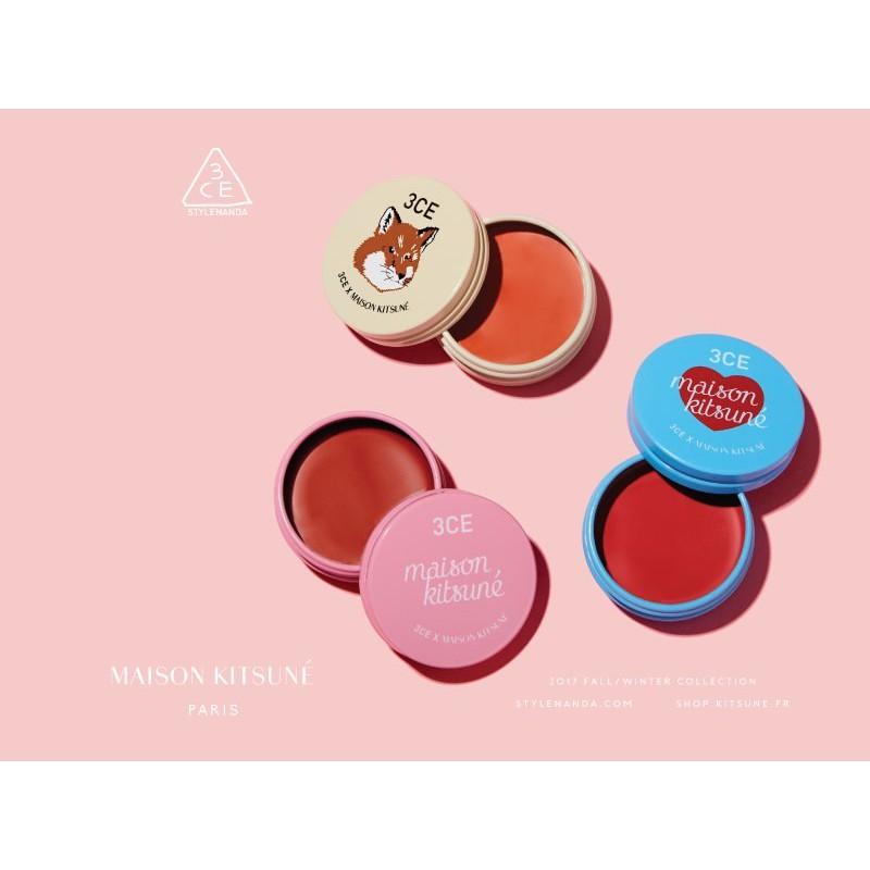 Son dưỡng môi có màu 3CE Maison Kitsune