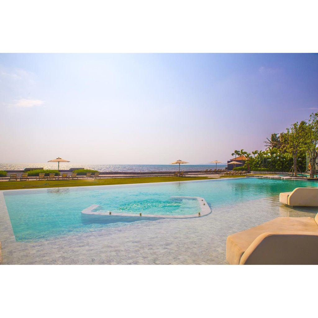 Voucher : Veranda resort pattaya ห้อง 1 bedroom residence พร้อมอาหารเช้า 2 ท่าน สำหรับ 3 วัน 2 คืน