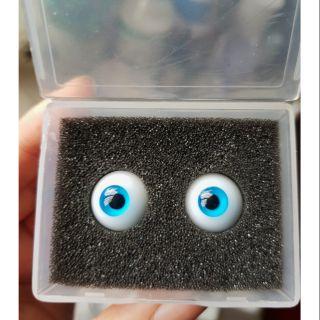 Mắt Resin cao cấp cho BJD 14mm màu xanh dương BJD Eyes Handmade Doll Eyes