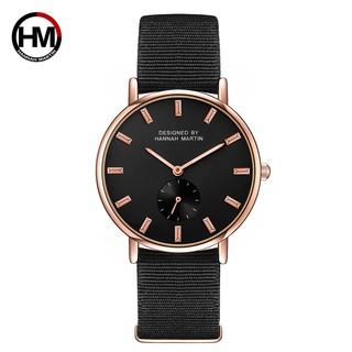 Đồng hồ dây da Hannah Martin chính hãng - Model HM-2138CH kiểu dáng sang trọng dành thumbnail