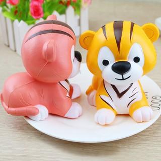 Cục nắn bóp trẻ em đàn hồi chậm hình con hổ squishy