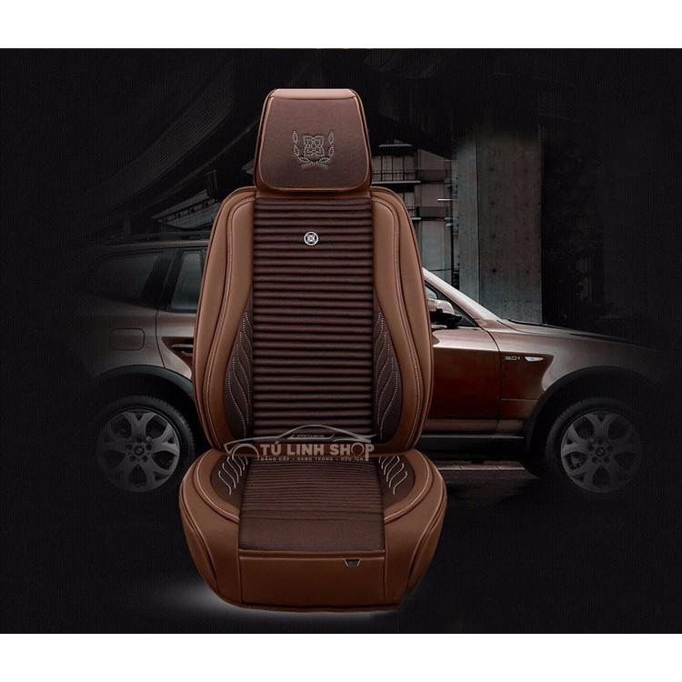 Bộ áo da 6D bọc ghế cho ô tô mẫu 9