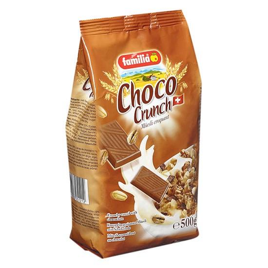 Ngũ Cốc Thụy Sĩ Choco Crunch Familia socola 500g