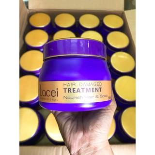 Yêu Thích(500ml) Kem Hấp dầu Lacei Hair Damaged Treatment Phục Hồi Hư Tổn Tóc