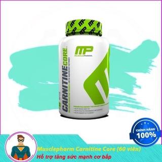 [XẢ KHO] [Sale] Thực Phẩm Bổ Sung Hỗ Trợ Giảm Mỡ Musclepharm Carnitine Core (60 viên) thumbnail
