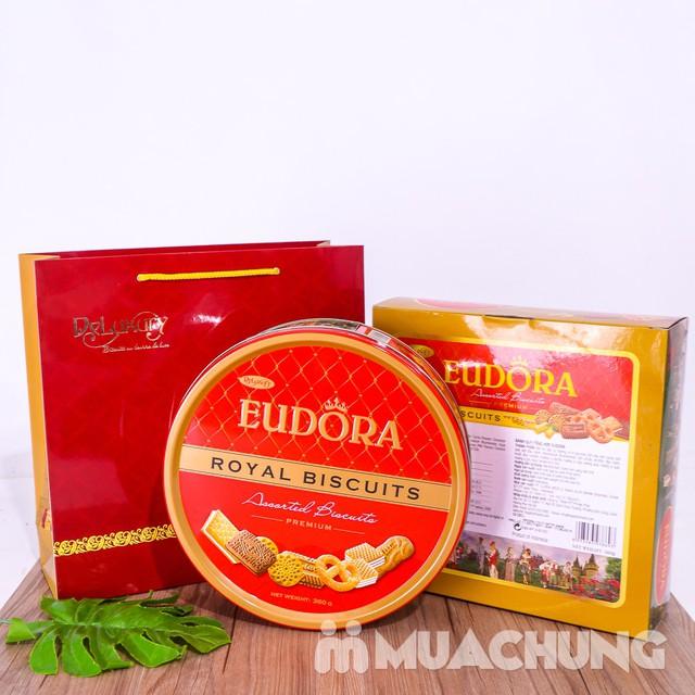 Bánh quy tổng hợp Eudora hộp thiếc 360g- Indonesia - 2439650 , 897590784 , 322_897590784 , 110000 , Banh-quy-tong-hop-Eudora-hop-thiec-360g-Indonesia-322_897590784 , shopee.vn , Bánh quy tổng hợp Eudora hộp thiếc 360g- Indonesia