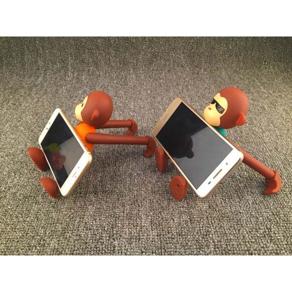 Giá đỡ điện thoại hình con khỉ đa năng