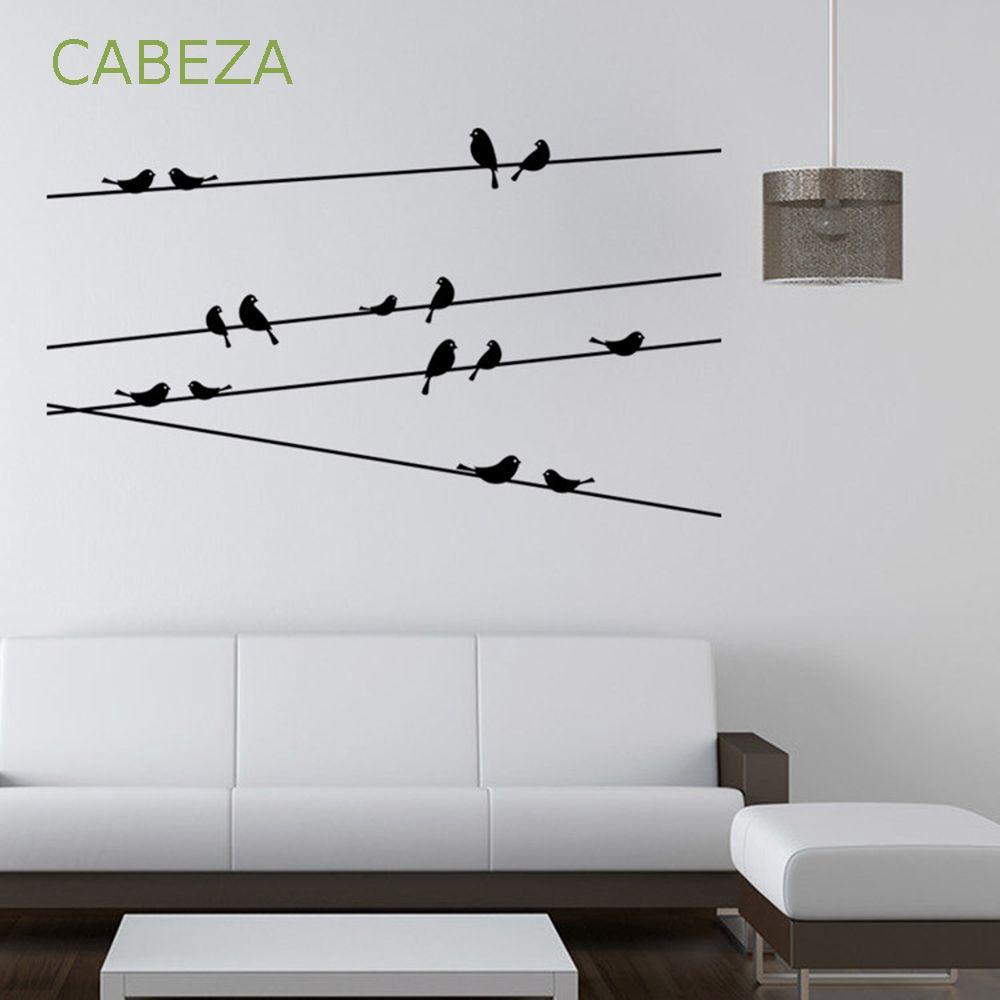 Miếng dán tường trang trí hình con chim độc đáo - 21934255 , 2780261845 , 322_2780261845 , 36600 , Mieng-dan-tuong-trang-tri-hinh-con-chim-doc-dao-322_2780261845 , shopee.vn , Miếng dán tường trang trí hình con chim độc đáo