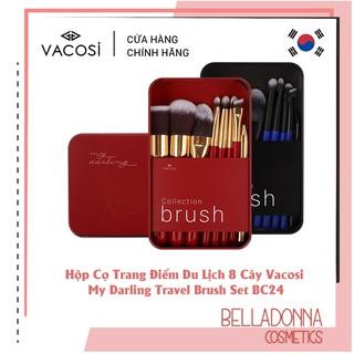 [Hàng chính hãng] Hộp Cọ Trang Điểm Du Lịch 8 Cây Vacosi My Darling Travel Brush Set BC24 thumbnail