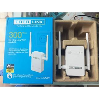 Totolink EX200 Bộ kích sóng wifi Tốc độ N300Mbps