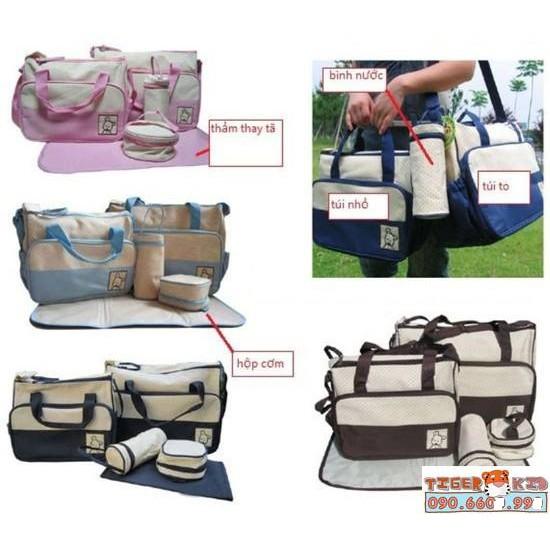 Túi đựng đồ dành cho mẹ và bé 5 chi tiết - 3275956 , 420203677 , 322_420203677 , 250000 , Tui-dung-do-danh-cho-me-va-be-5-chi-tiet-322_420203677 , shopee.vn , Túi đựng đồ dành cho mẹ và bé 5 chi tiết