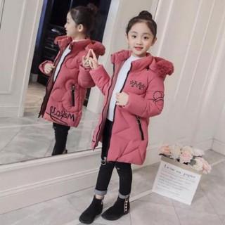 HOT Áo khoác phao mũ lông cho bé nhỡ hàng Quảng Châu