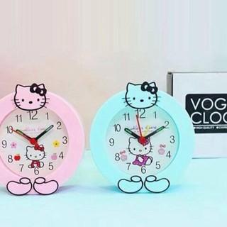 Đồng Hồ Báo Thức Để Bàn Mini Hello Kitty Làm quà tặng sinh nhật cho bé
