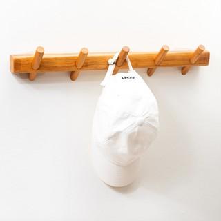 Móc treo quần áo Vivudecor gỗ gắn tường decor trang trí phòng cây treo đồ vuông