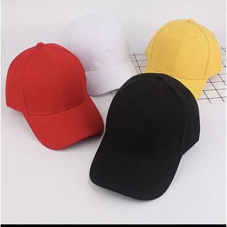 Mũ lưỡi trai trơn Unisex, nón lưỡi trai thời trang nhiều màu – NKT01