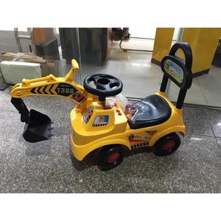 [Nhập mã APTOYFAIR giảm 20K khi thanh toán qua Airpay]Xe chòi chân cần cẩu cho bé, xe tập đi chòi chân cho bé