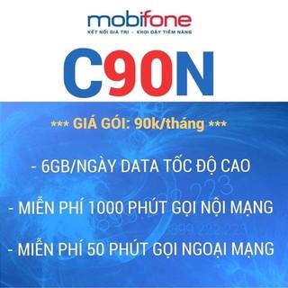 sim C90N mobifone ưu đãu 4GB/ ngày