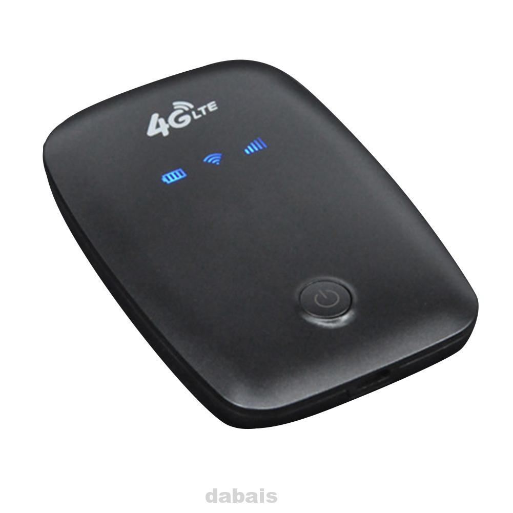 4G Car Mobile Mini Outdoor Portable Wireless Dongle With Sim Slot Travel Wifi Router