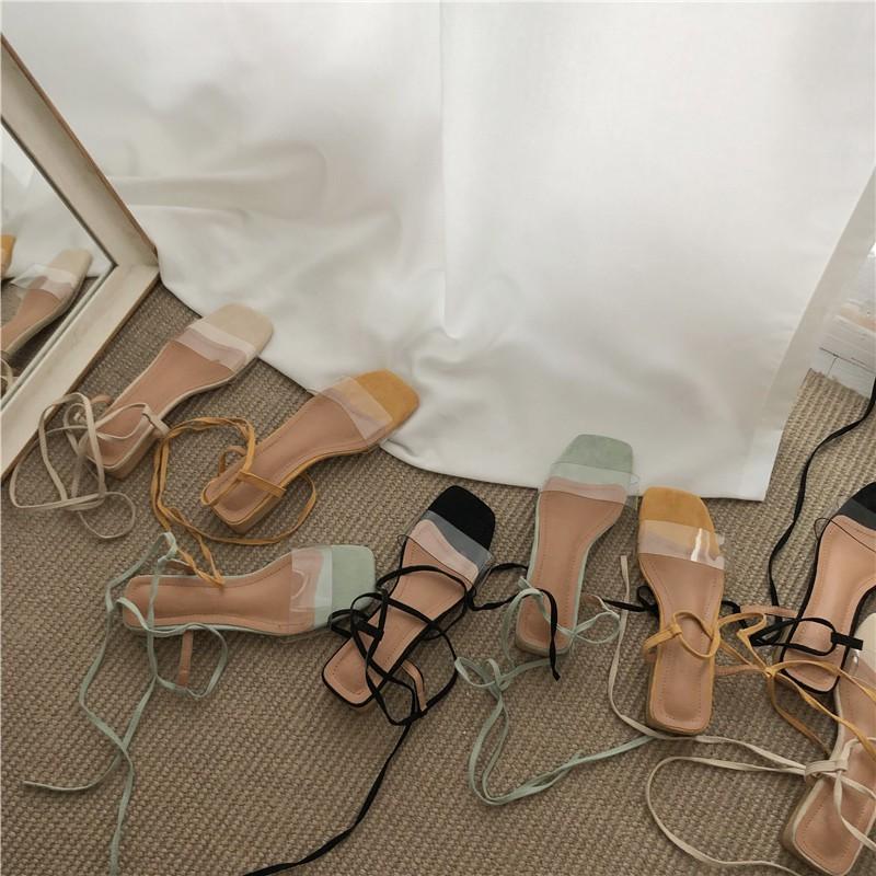Giày xăng đan quai ngang trong suốt xinh xắn dành cho nữ - 14717024 , 2500942435 , 322_2500942435 , 319360 , Giay-xang-dan-quai-ngang-trong-suot-xinh-xan-danh-cho-nu-322_2500942435 , shopee.vn , Giày xăng đan quai ngang trong suốt xinh xắn dành cho nữ