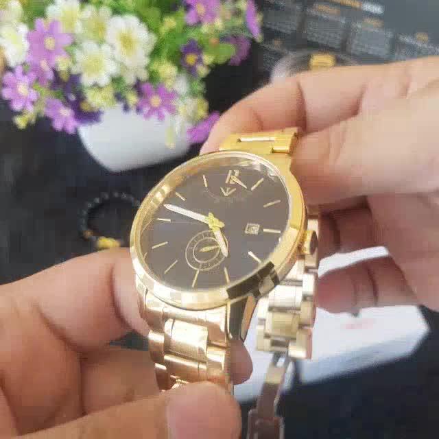 [Tặng vòng tay]Đồng hồ nam NIBOSI chính hãng NI2318.03 chống nước , chống xước