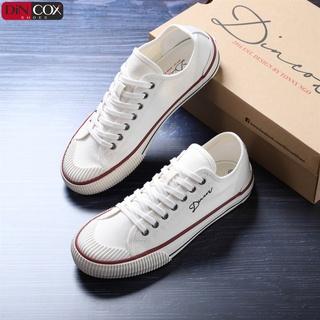 GIày Dincox Sneaker Unisex D21 White Phong Cách Ấn Tượng