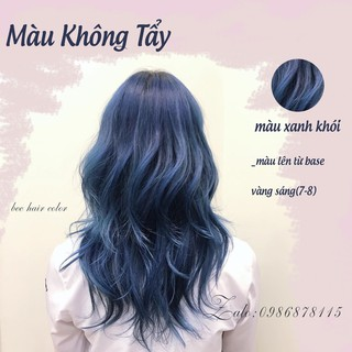Thuốc nhuộm tóc màu XANH DƯƠNG KHÓI 100ml