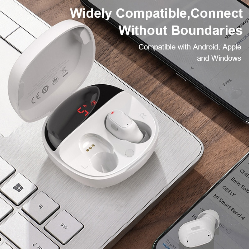 Tai Nghe Bluetooth Baseus WM01 Plus TWS Mini 5.0 Âm Thanh Stereo Cao Cấp
