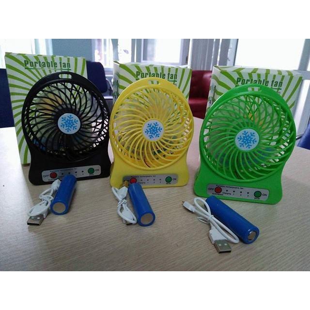 Quạt tích điện mini fan sạc USB - 2731337 , 967663244 , 322_967663244 , 65000 , Quat-tich-dien-mini-fan-sac-USB-322_967663244 , shopee.vn , Quạt tích điện mini fan sạc USB