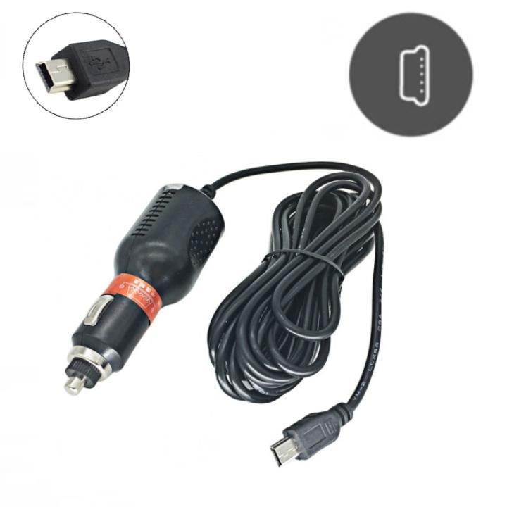 Dây nguồn dùng cho camera hành trình cắm tẩu Mini USB ô tô PS204 (Màu đen)