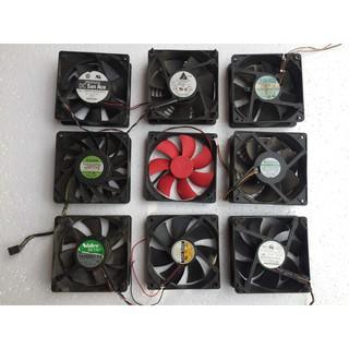 Quạt Fan 12V kích thước Fan 12 Siêu tốc (12x12Cm)