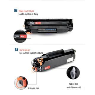 Hộp mực 83A và 337A có lỗ đổ mực và mực thải. Dùng cho HP LaserJet Pro M125/ 125FW/ 125A/ M126/ …