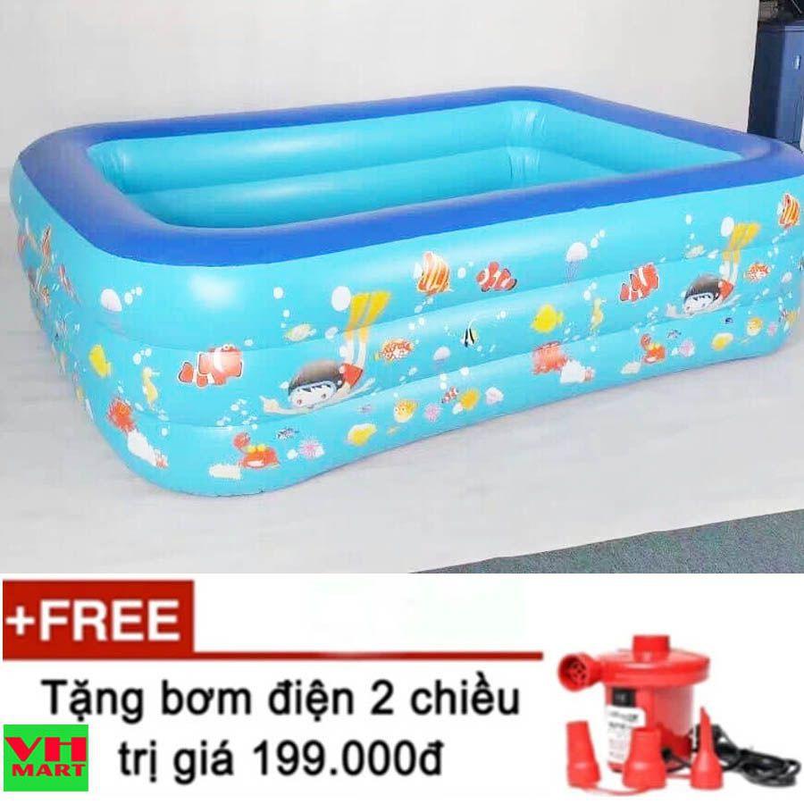 bể bơi 2m6 3 tầng cho trẻ