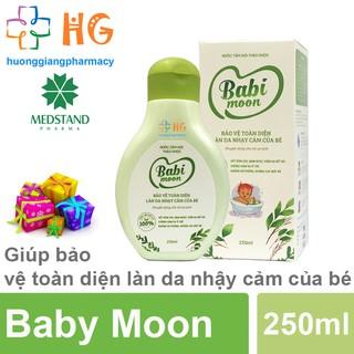 [Kèm Quà Tặng] Nước tắm gội thảo dược Baby Moon - Giúp bảo vệ toàn diện làn da nhạy cảm của bé (Chai 250ml) thumbnail