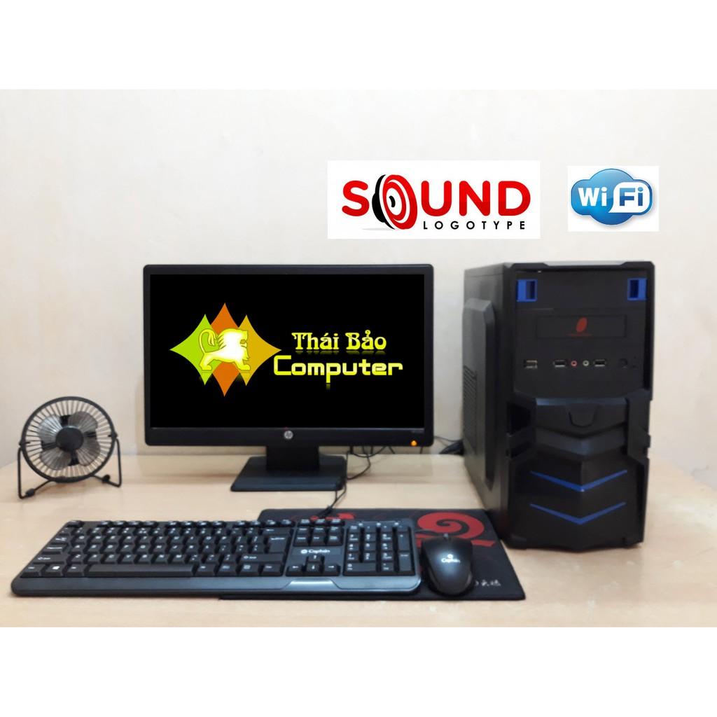 Bộ máy để bàn TB119 màn hình 19 chữ nhật có phím chuột WIFI LOA Giá chỉ 2.150.000₫