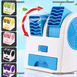 [baishangworshipwell ]2020 Newest Mini Fan Bedroom Outdoor USB Battery Powered Portable Quiet Cooler thumbnail