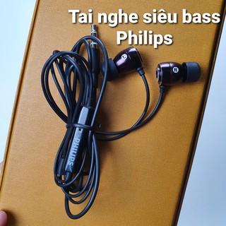 [Mã ELFLASH5 giảm 20K đơn 50K] Tai nghe nhét trong tai Philips SHE âm bass siêu khủng hay nhất trong tầm giá 100k