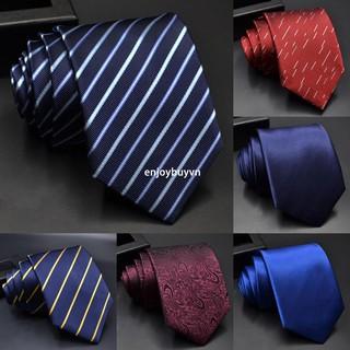 enjoybuy.vn Men Fashion Soft Print Pattern Formal Ties Wedding Necktie