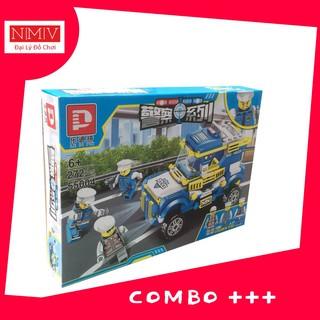 Combo Xếp Hình 272 Mảnh Ghép Lego Cảnh Sát (XH55004)