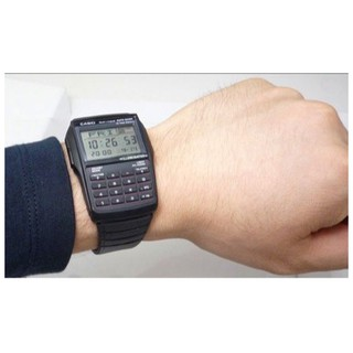 Đồng hồ nam dây nhựa chính hãng CASIO DATA BANK DBC-32-1A