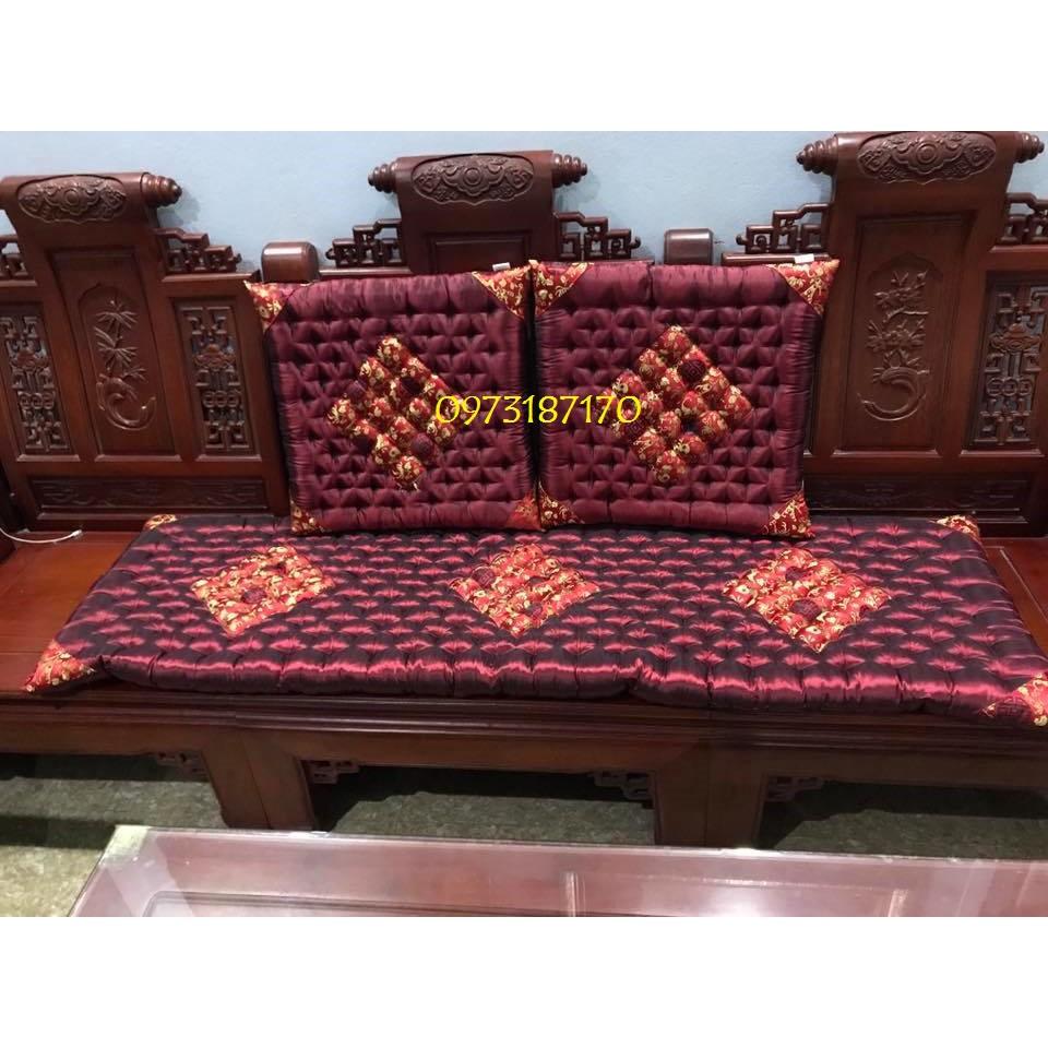 Thảm trải ghế dài 1m7 ( chỉ 1 cái dài )