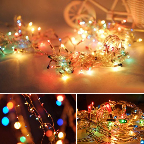 Christmas lights are indispensable decorations at Christmas