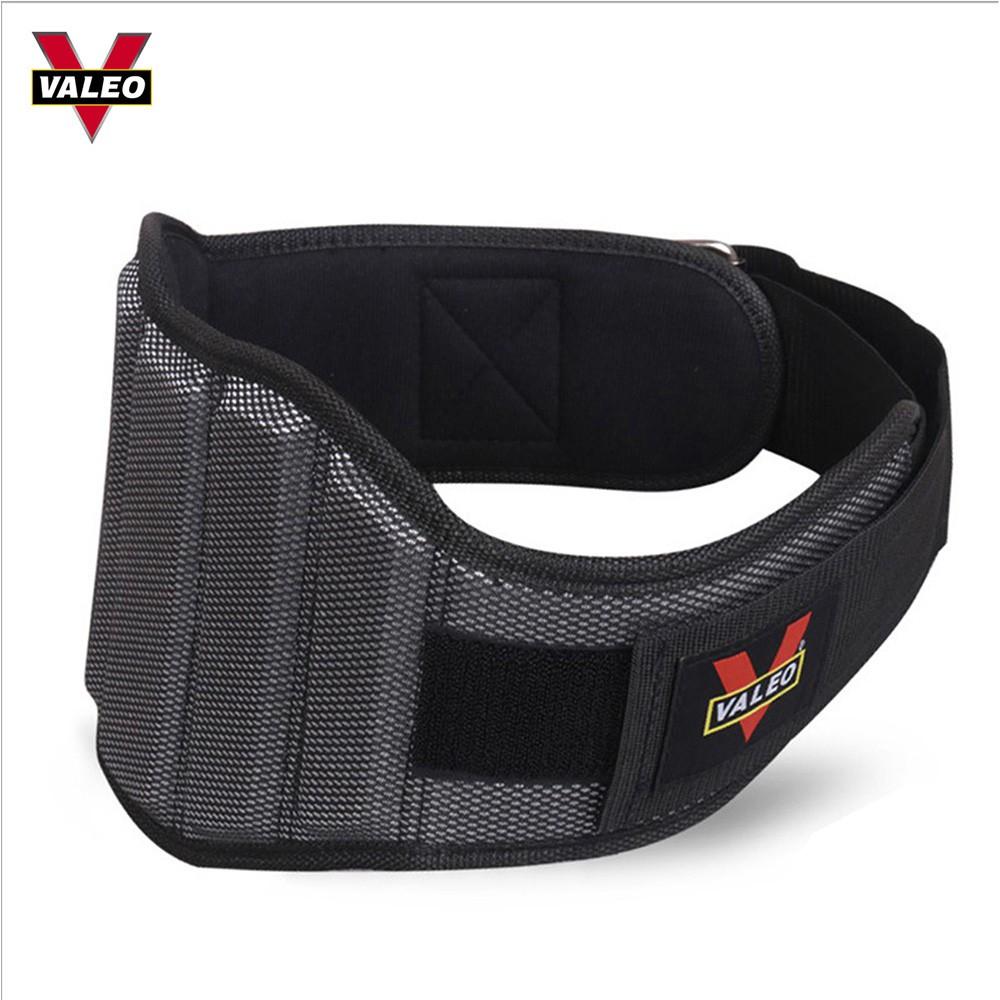 Đai Lưng Mềm Lục Giác Valeo Bản To - Bảo vệ lưng, giúp chống đau lưng mỏi cơ khi tập luyện