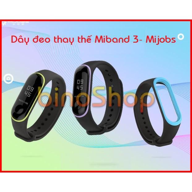 Dây đeo thay thế Miband 3 hàng chuẩn mijos