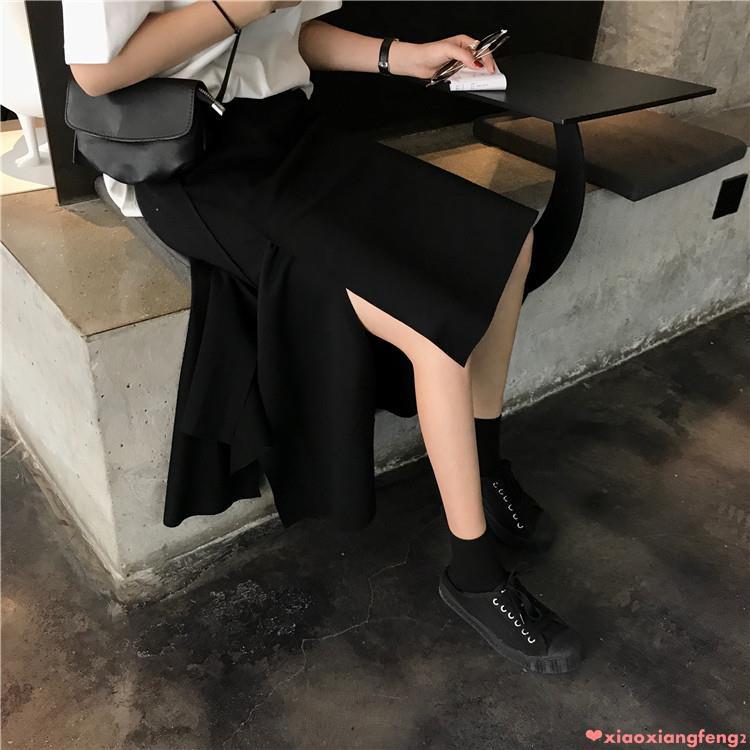 chân váy dài lưng cao phong cách retro - 13863285 , 2477225931 , 322_2477225931 , 430100 , chan-vay-dai-lung-cao-phong-cach-retro-322_2477225931 , shopee.vn , chân váy dài lưng cao phong cách retro