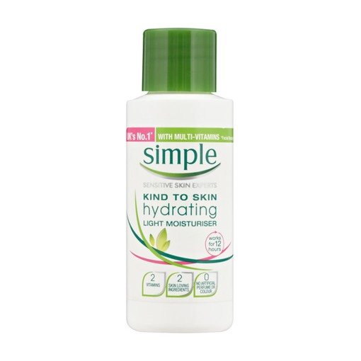 Kem dưỡng ẩm Simple Hydrating Light Moist 50ml