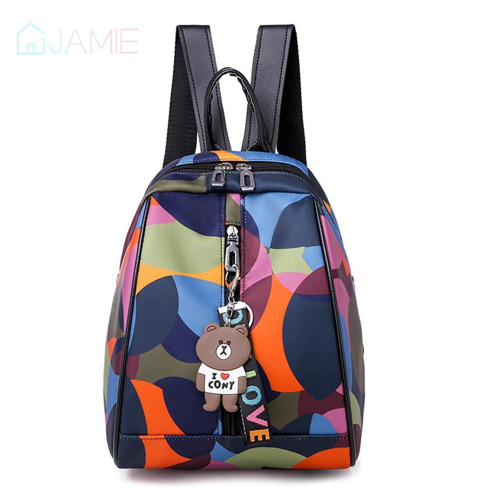 🌸Printing Travel Backpacks Women Nylon  Small Shoulder