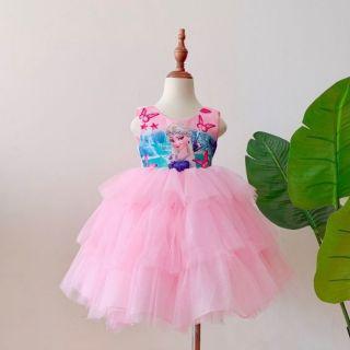 Váy công chúa Elsa hàng Việt Nam thiết kế cho bé từ 11-25 kí