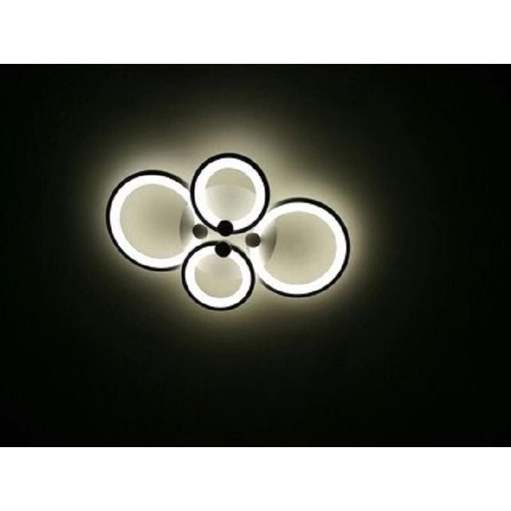 Đèn Ốp Trần Hiện Đại 3 Màu Mẫu V4– Có Điều Khiển – Tiết Kiệm Điện Năng